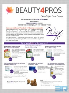 Flyer Beauty4Pros Paying Too Much For Wax