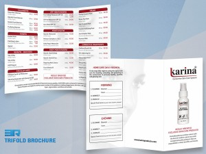 TriFold Brochure Karina Products