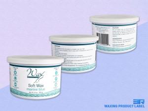Wax Necessities Soft Wax Marine Blue Label