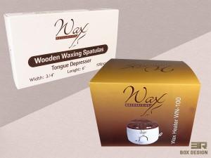 Wax Necessities Packaging Design